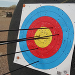Hitting the target at Gilbert Archery Fundraiser for Sunshine Acres