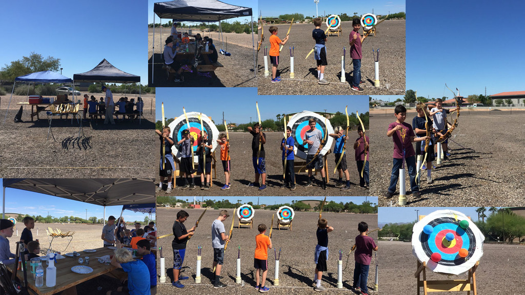 Photo of Birthday Party at Gilbert Archery Range