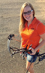 Danielle Pro Archer for Sunshine Acres Archery Fundraiser