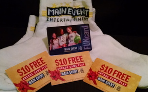 Main Event Prize