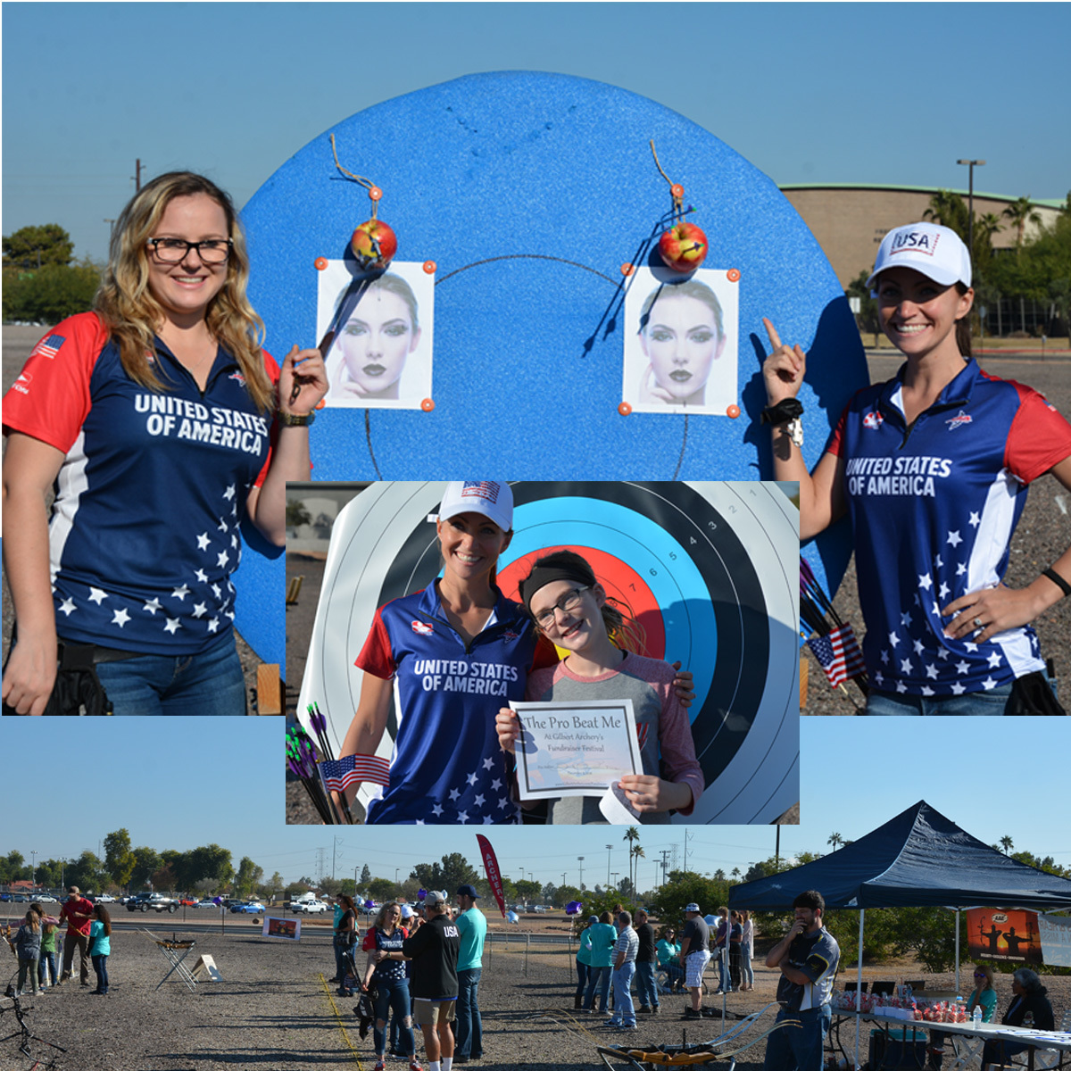 Gilbert Archery Fundraiser Fun
