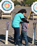 Fundraiser Fun Trying Archery